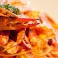 画像1: 蟹のトマトクリームソース (1)