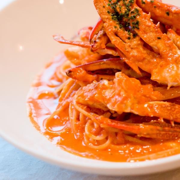 画像2: 蟹のトマトクリームソース